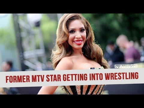Former MTV/Teen Mom Star Farrah Abrahams Getting Into Pro Wrestling