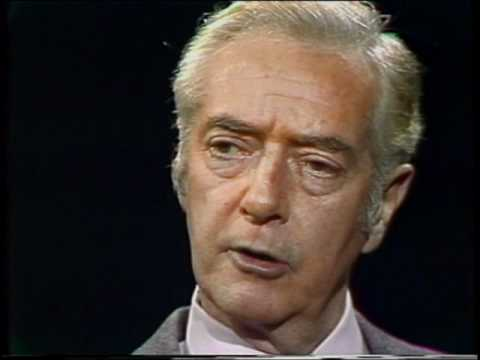 Day at Night:  Howard K. Smith, TV newscaster