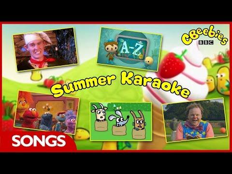 CBeebies Summer Karaoke - BBC Red Button