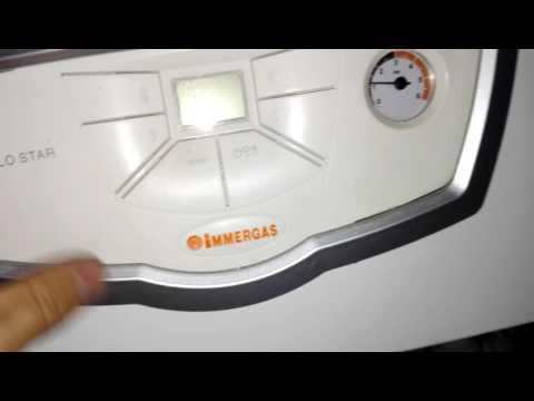 Как разобрать газовый котел IMMERGAS EOLO Star 24 3E ?