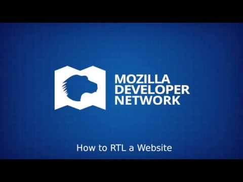 Tutorial: How To RTL (right-to-left) A Website