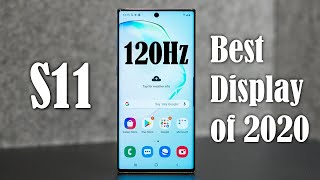 Samsung Galaxy S11 (S20 Ultra) - BEST DISPLAY OF 2020 Confirmed