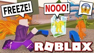 YOUTUBERS ONLY JAILBREAK FREEZE TAG!! (Roblox)