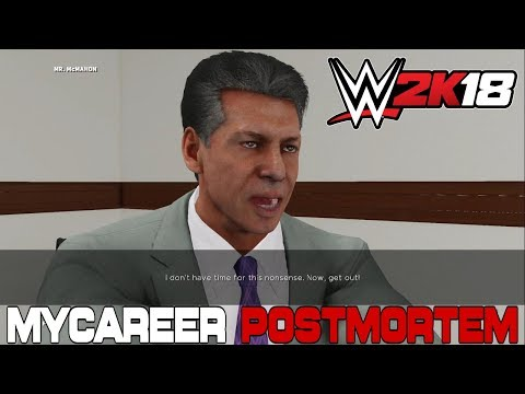 Postmortem: WWE 2K18 MyCareer Mode thumbnail