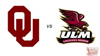 Oklahoma Highlights vs ULM - 8/31/13 (HD)