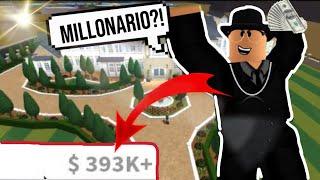 COMO ser *MILLONARIO* en BLOXBURG!! | TIPS & TRUCOS para TRABAJAR!
