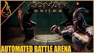 Automated NPC Battle Arena Conan Exiles Pippi Mod Tutorial