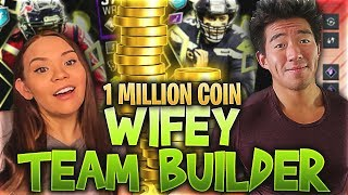 I GAVE MY WIFE 1 MILLION COINS TO MAKE A TEAM! Madden 20 Ultimate Team
