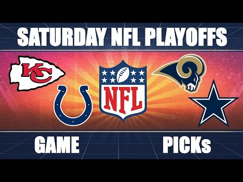 Colts vs. Chiefs & Cowboys vs. Rams: NFL Divisional Playoffs