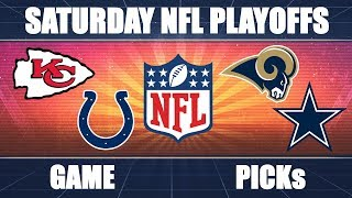 Colts vs. Chiefs & Cowboys vs. Rams: NFL Divisional Playoffs