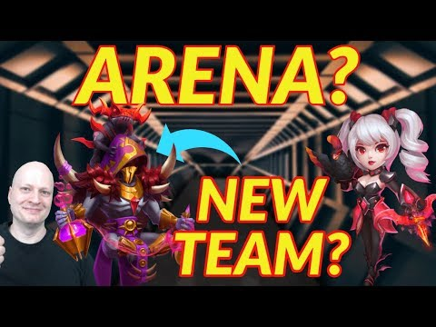 New Arena Team? | Castle Clash | Occultist | Dove Keeper