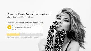Shania Twain - Interview on Country Music News International - Nov 22 2017