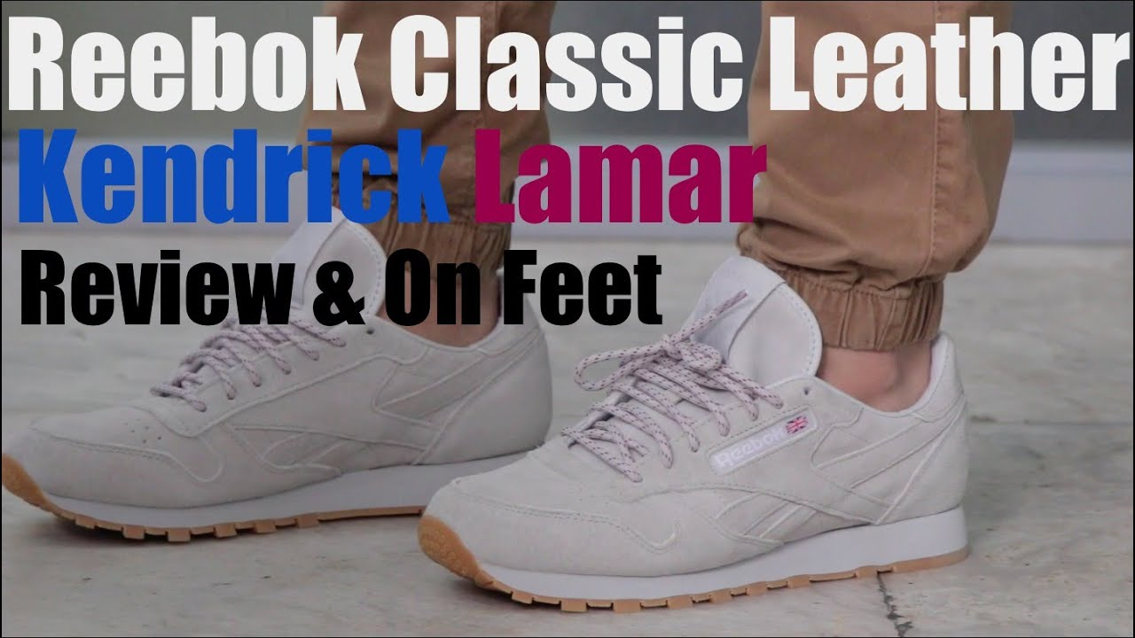 Reebok  Kendrick Lamar  Classic Leather  Review   On Feet - YouTube c19836679