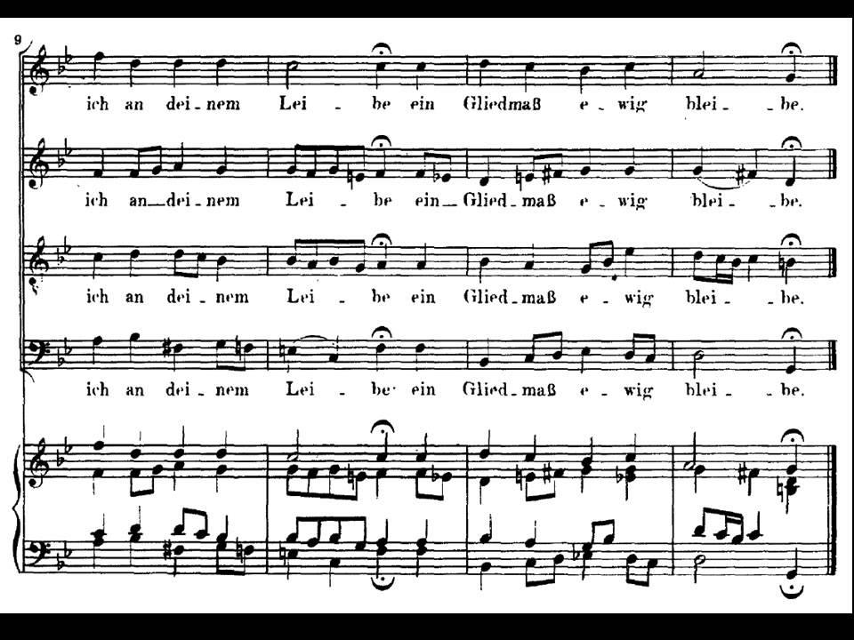 J.S. Bach. Coral de la Cantata BWV 5 - YouTube