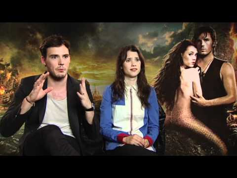 We talk to Sam Claflin and Astrid BergesFrisbey from Pirates of the Caribbean: On Stranger Tides!