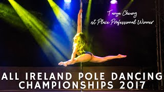 The All Ireland Pole Dance Competition 2017 - Tanya Cheung - PROFESSIONAL WINNER