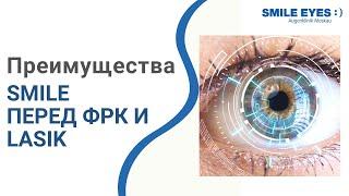 Лазерная коррекция зрения. 👀  Преимущества лазерной коррекции зрения SMILE перед ФРК и LASIK