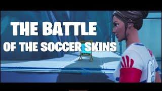 THE BATTLE OF THE SOCCER SKINS (Fortnite Short Action Film)