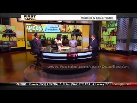 ESPN First Take   Kevin Hart talks Kobe Bryant & Dwight Howard (FULL Interview 720p) - ESPN Sport F
