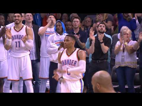 Russell Westbrook 41st Triple-Double Full Highlights | April 4, 2017