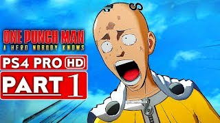 ONE PUNCH MAN A HERO NOBODY KNOWS Gameplay Walkthrough Part 1 Closed Beta [1080p HD] No Commmentary
