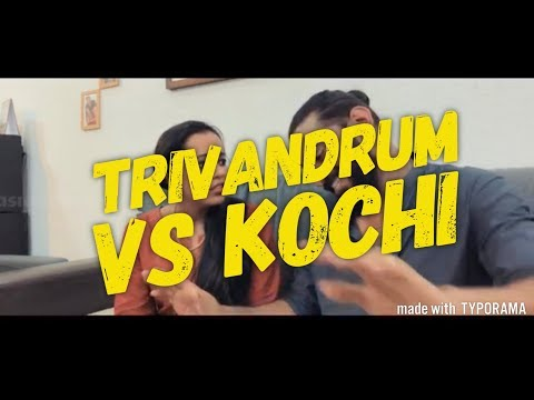 Trivandrum vs Kochi | Thiruvananthapuram Highlights | Kochi th...
