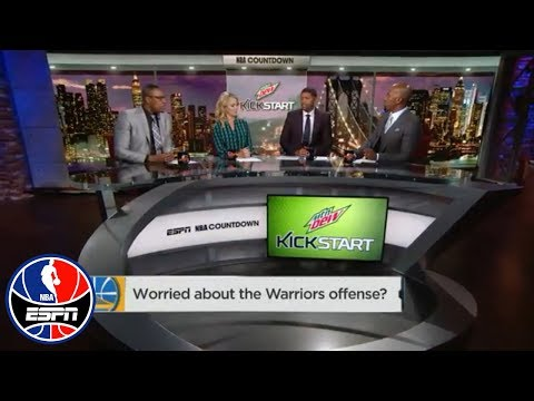 Worried about the Golden State Warriors' offense? | NBA Countdown | ESPN