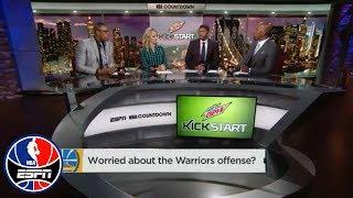 Worried about the Golden State Warriors' offense? | NBA Countdown | ESPN