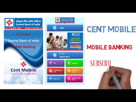 Cent Mobile Activation In Hindi | By ATM Debit Card | Mobile Banking Central bank activation