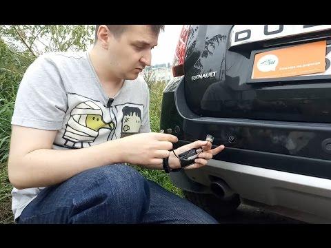 Замена датчика парковки Aviline на Renault Duster