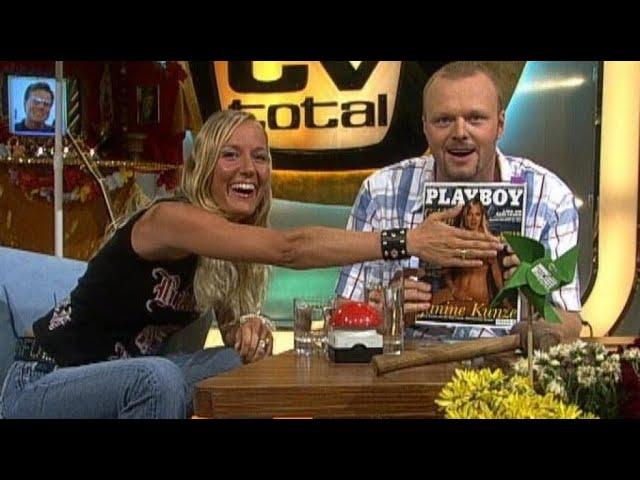 Janine Kunze im Playboy - TV total
