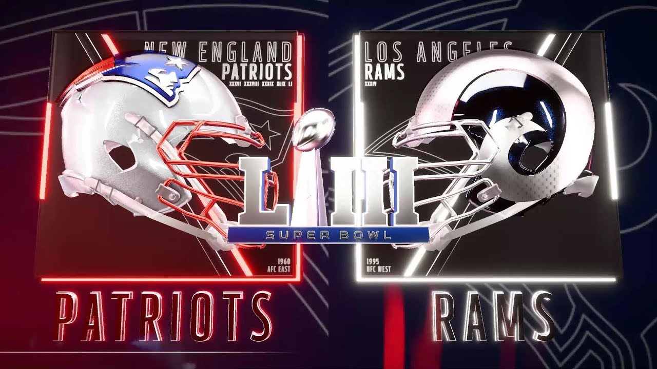 Image result for 53rd Super bowl Pats vs. Rams