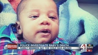 Mom says baby abused before death