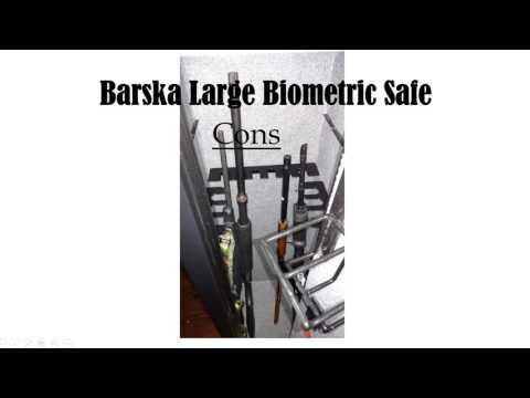 Long Gun Safe - Barska Large Biometric Safe Review