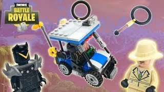 Lego Fortnite - (Golf Cart,Oblivion, Sleuth And Magnifying Axe)