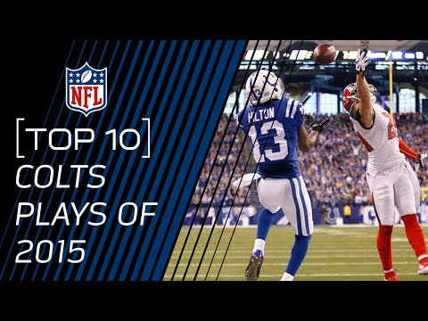 Top 10 Colts Plays of 2015 | #TopTenTuesdays | NFL
