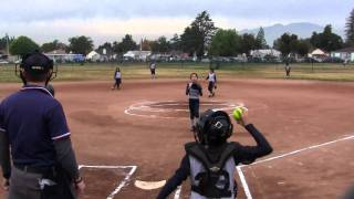 8u softball fastpitch jackie pitching 3