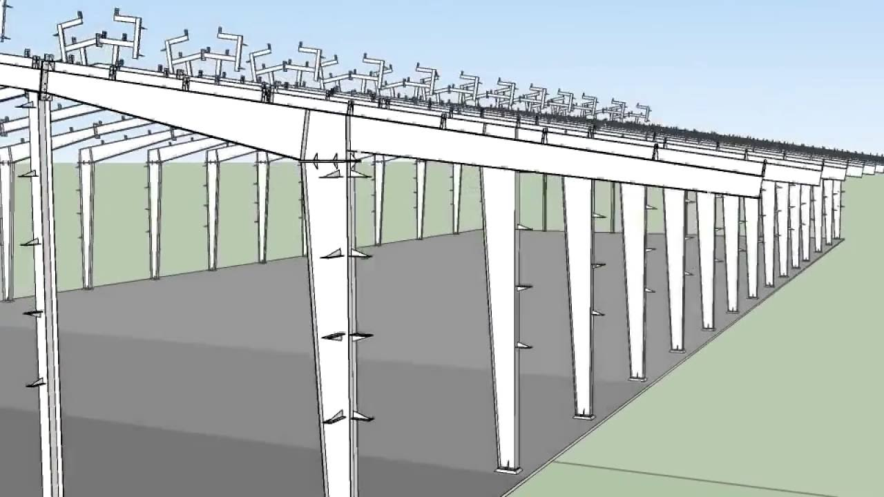 Cấu trúc nhà xưởng thông dụng