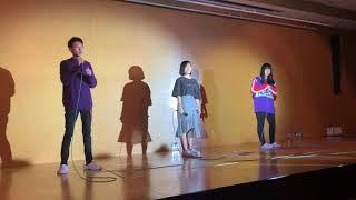 文化祭で点描の唄を歌いました! あまり上手くはないけど楽しかったです!