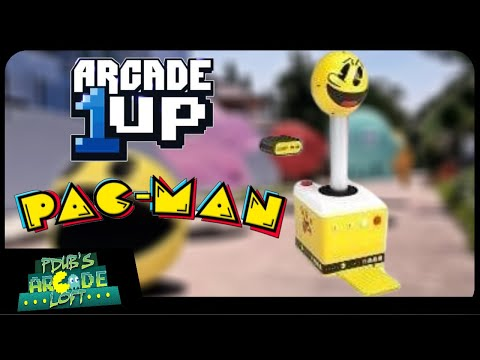 Arcade1Up Pac-Man & Atari Giant Joystick Renders Revealed! from PDubs Arcade Loft