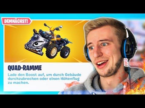 *Neu* QUAD KART In FORTNITE 🔥 Live Fortnite Deutsch
