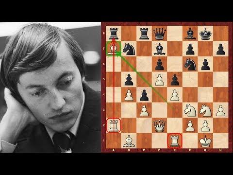 Anatoly Karpov Amazing Immortal Chess game vs Unzicker - Ruy Lopez - Nice Olympiad 1974