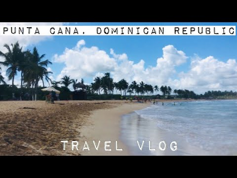 Punta Cana Dominican Republic Travel Vlog: Traveling + Room Tour - Part 1