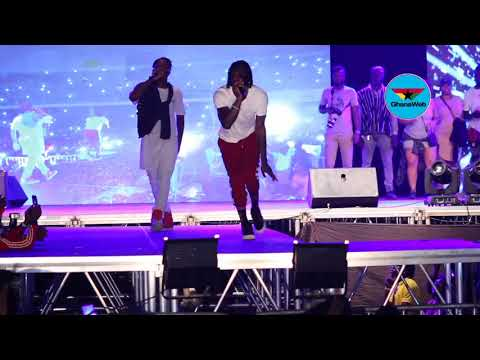 Stonebwoy's performance at 'S' concert