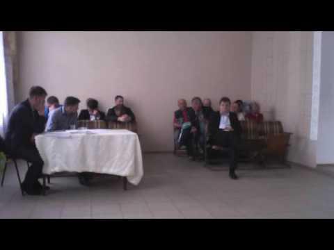 Sedinta Consiliului satesc Bulboaca din 16 05 2016