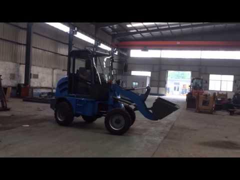 China mini wheel loader from Shandong Tuishan Heavy Industry