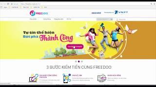 [FREEDOO]Hướng dẫn đăng ký làm cộng tác viên trên trang web freedoo.vnpt.vn