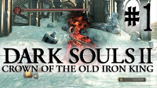 Dark Souls 2 DLC: Crown of the Old Iron King - Gameplay Español Parte 1