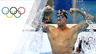 USA's Ervin wins Men's 50m Free gold