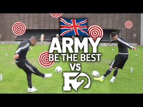 F2 VS BRITISH ARMY!!